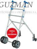 AndaRoller aluminio ruedas delanteras y traseras