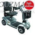 Scooter «LEO» 4 ruedas color PLATA