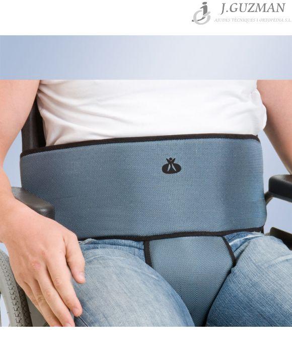 Cinturón abdominal y pieza perineal