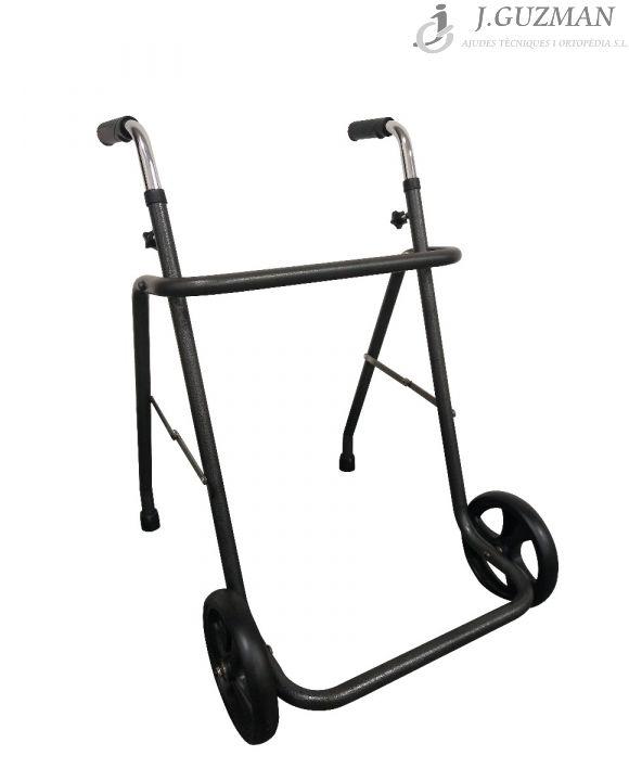 Andador con ruedas delanteras