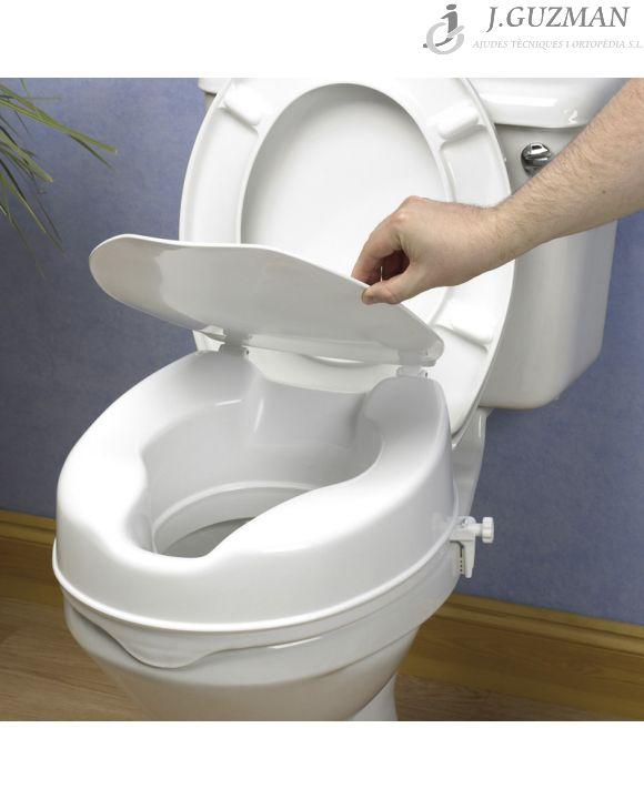 Elevador de WC económico con tapa