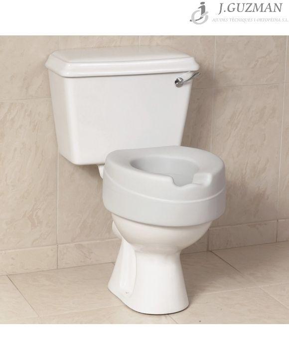 Asiento elevador WC blando «SOFT»