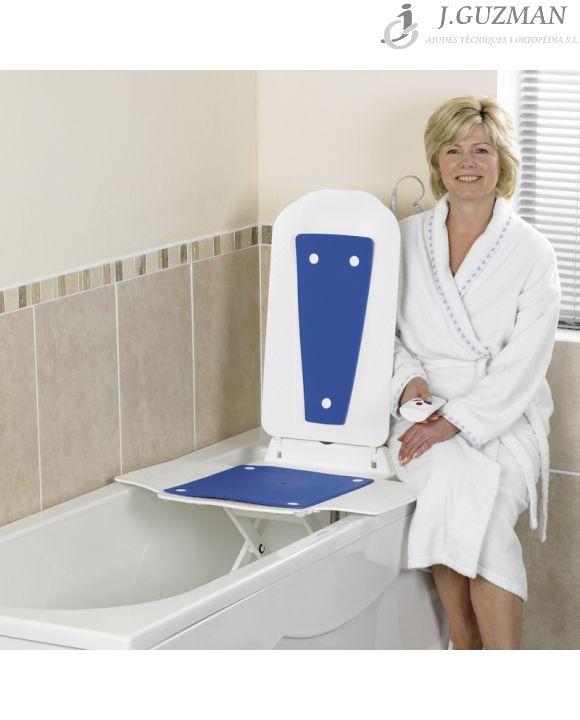 Elevador de bañera eléctrico «BATH MASTER»