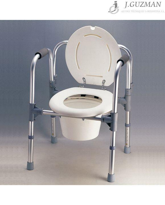 Silla WC «3 en 1»