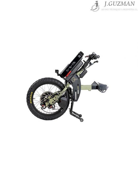 Handbike Batec «SCRAMBLER» color VERDE OLIVA