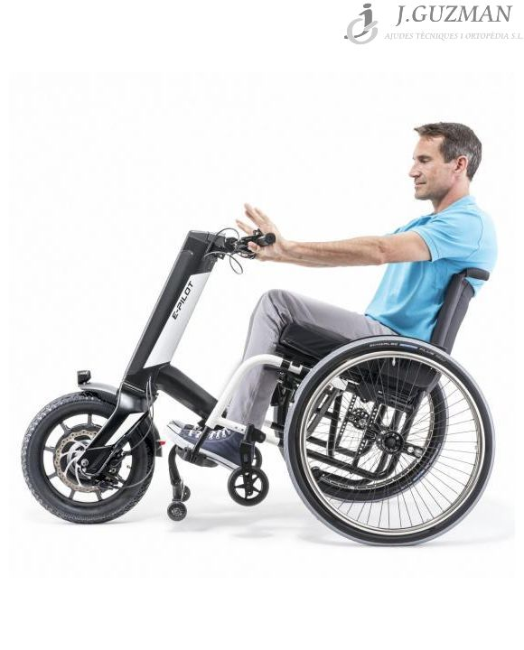 La handbike eléctrica e-Pilot de Alber