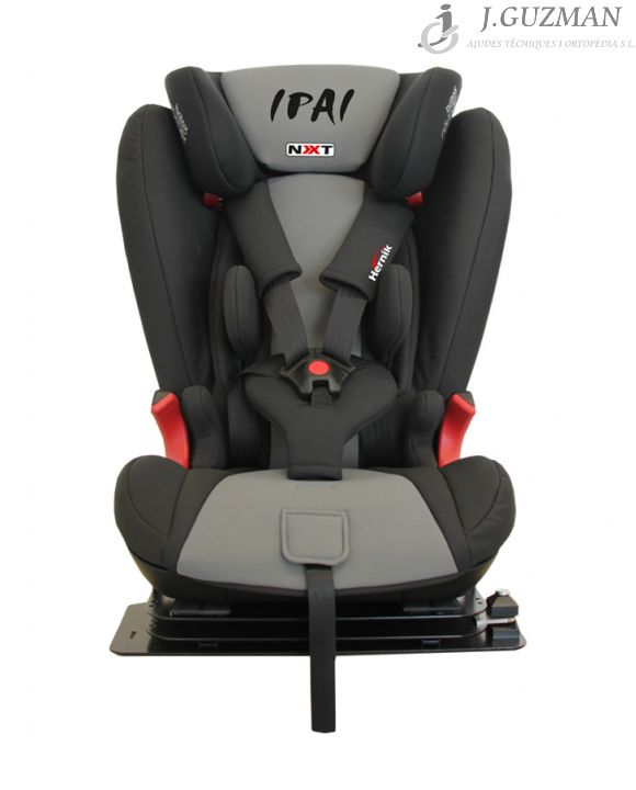 Asiento de coche para niños «IPAI-NXT» Gris-Negro