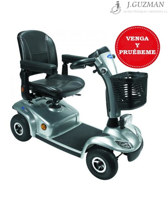 Scooter «LEO» 4 ruedas color PLATA