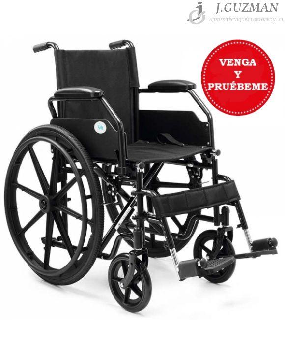 Silla de ruedas de acero plegable «PC 21»