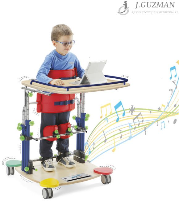 Bipedestador «MINI STANDY DJ»
